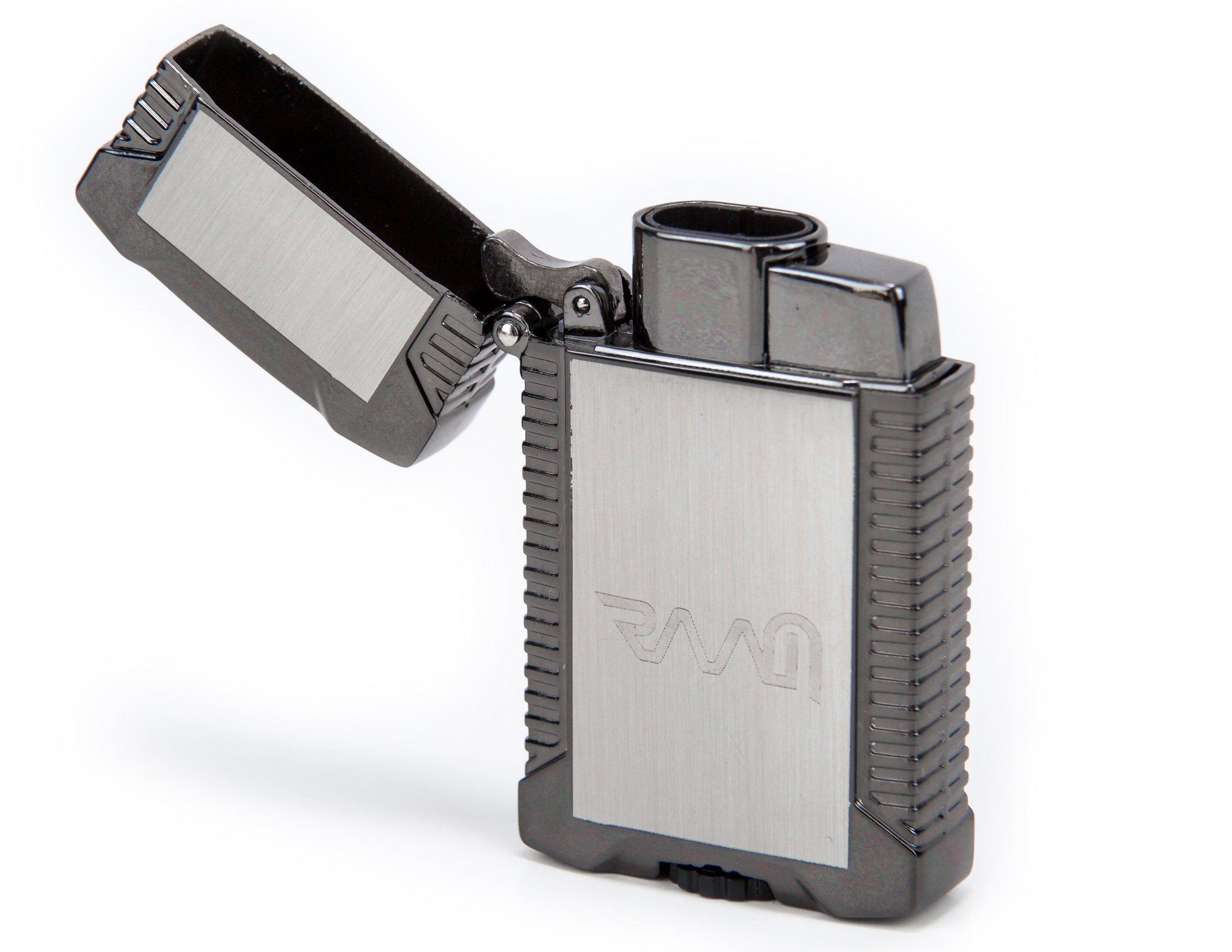 RAAM Double Jet Flame Lighter (Gun Metal)