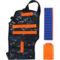 Estink EVA Cartridge Storage Handbag With Foam Bullet Clip and 20pcs Bullets for Nerf Elite Game Toys