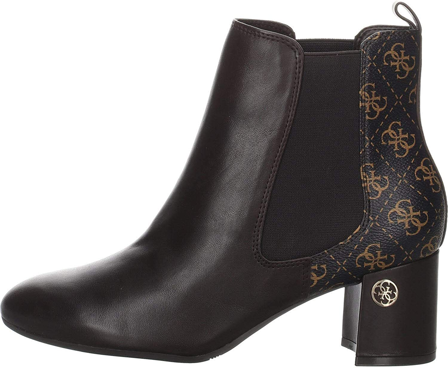 Guess Acurn/Stivaletto (Bootie)/Leat, Botines para Mujer