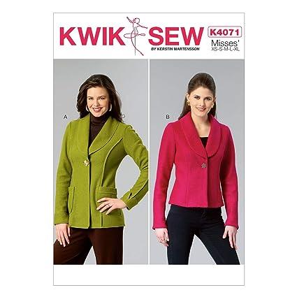 Amazon Kwik Sew Patterns K4071 Misses Jackets All Sizes