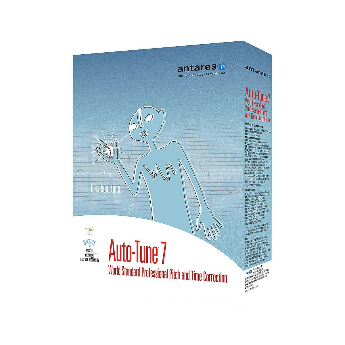 Antares Audio Auto-Tune 7 TDM -Channel Audio Plug-in Antares Audio Technologies