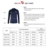 BALEAF Big Boys' Long Sleeve Swim Shirt Quick Dry