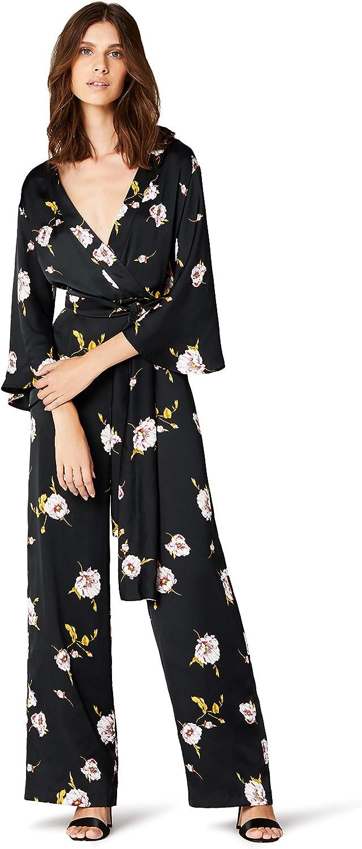 TALLA S. Marca Amazon - TRUTH & FABLE Mono Largo Estilo Kimono Mujer