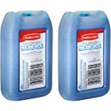 RUBBERMAID - Blue Ice Mini Pack, Reusable, 1026-TL-220, 8 OZ (2 Pack)