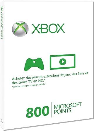 Microsoft - Tarjeta De 800 Puntos (Xbox 360): Amazon.es: Videojuegos
