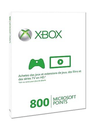 Microsoft - Tarjeta De 800 Puntos (Xbox 360): Amazon.es ...