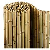 Brise-vue casa pura® en 100% bambou   clôture de qualité supérieure   3 tailles   tiges de bambou naturel   180x200cm