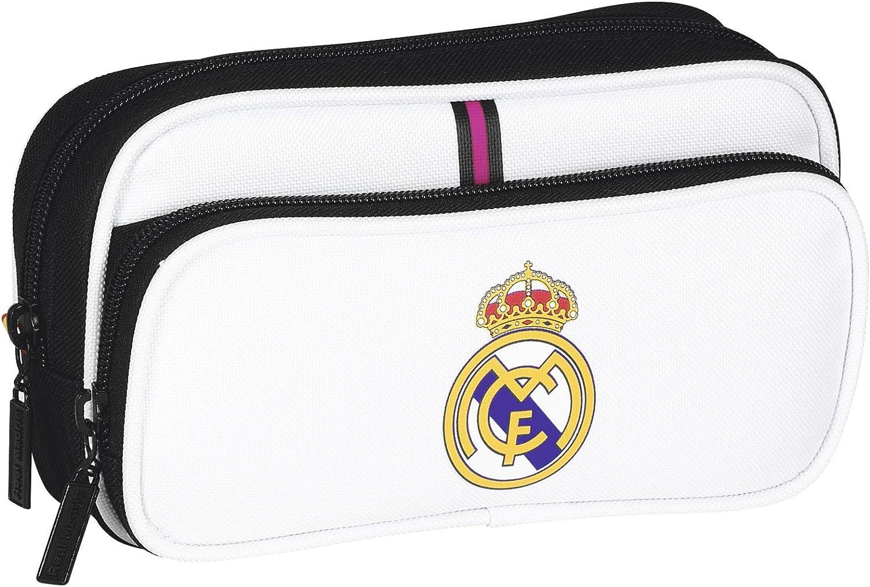 Real Madrid - Estuche portatodo con Bolsillo (SAFTA 811457602): Amazon.es: Juguetes y juegos