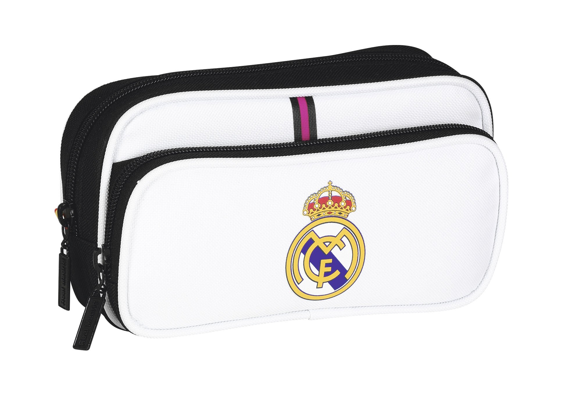 Real Madrid F.C.. Real Madrid Twin Pocket Pencil Case