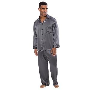 Men's 100% Silk Pajama Set