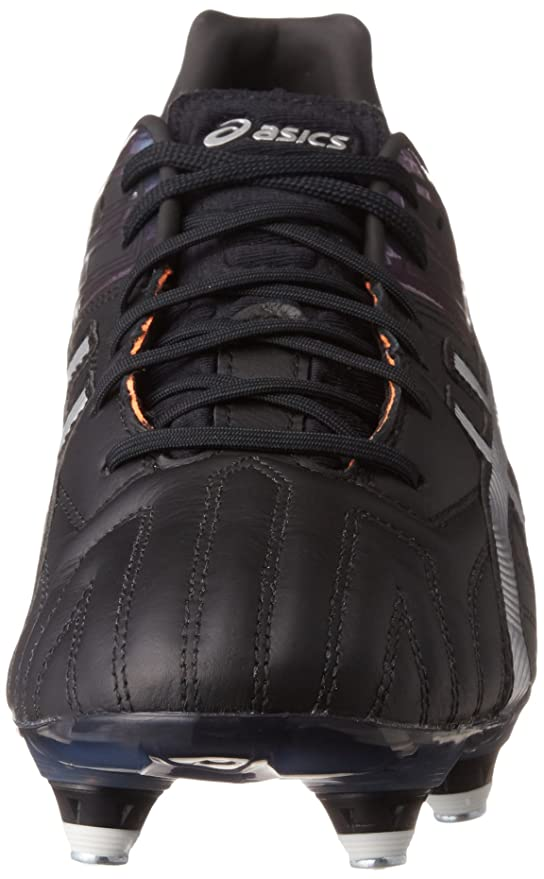02452d9ec31 Asics Gel-Lethal Tigreor 10 ST Rugby Boots - Black Silver  Amazon.co.uk   Sports   Outdoors