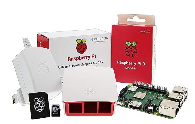 6 opinioni per UCreate Raspberry Pi 3 Model B+ Desktop Starter Kit (16Gb) (White)