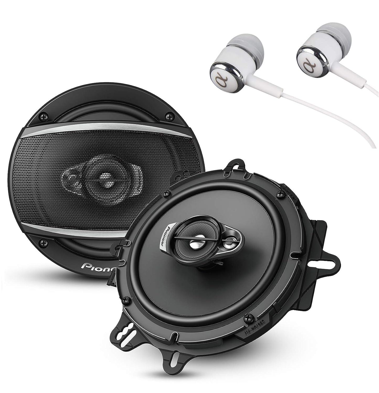 Pioneer TS-A1676R 6.5 Inch 3-Way Speaker Pair
