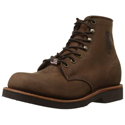 """Chippewa Men's 6"""" Rugged Handcrafted Lace-Up Boot 