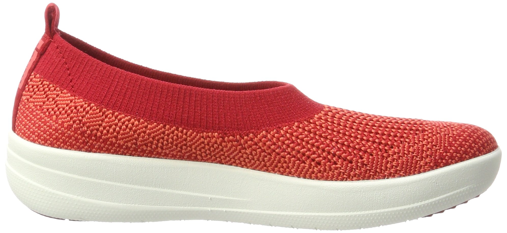 Fitflop H95 Women's Uberknit™ Slip-On Ballerinas, Classic Red - 8.5 by FitFlop (Image #5)