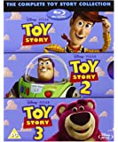 Toy Story Trilogy [ Blu - rayボックスセット] Complete 1、2、3、ディズニー& Pixarすべて3映画