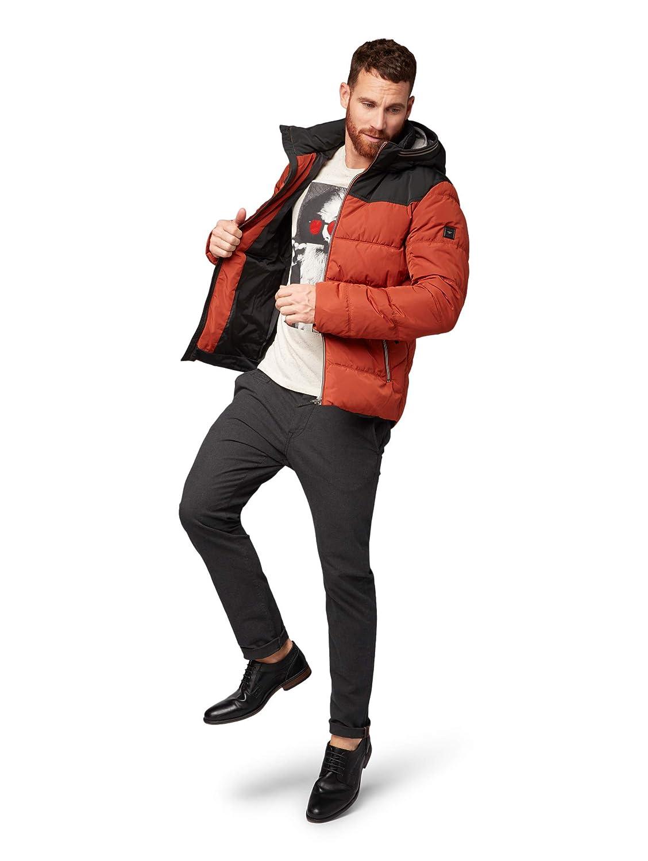 TOM TAILOR Herren Jacke Funktionsjacke mit Kaputze Kaputze Kaputze und Gesteppter Optik B07J1J5H4W Jacken Abgabepreis 825443