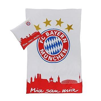 Fc Bayern München Bettwäsche Mia San Mia Amazonde Sport Freizeit