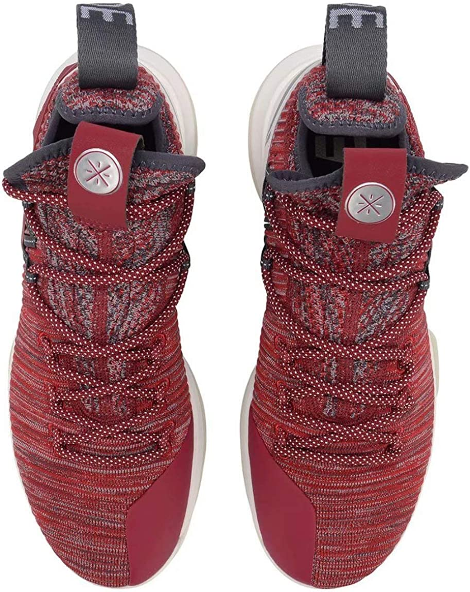 LI-NING AIT VI Wade Men Shock Absorption Professional Basketball Shoes Sports Lining Anti-Slip Whole-Woven Sneakers Sports Shoes ABAP005