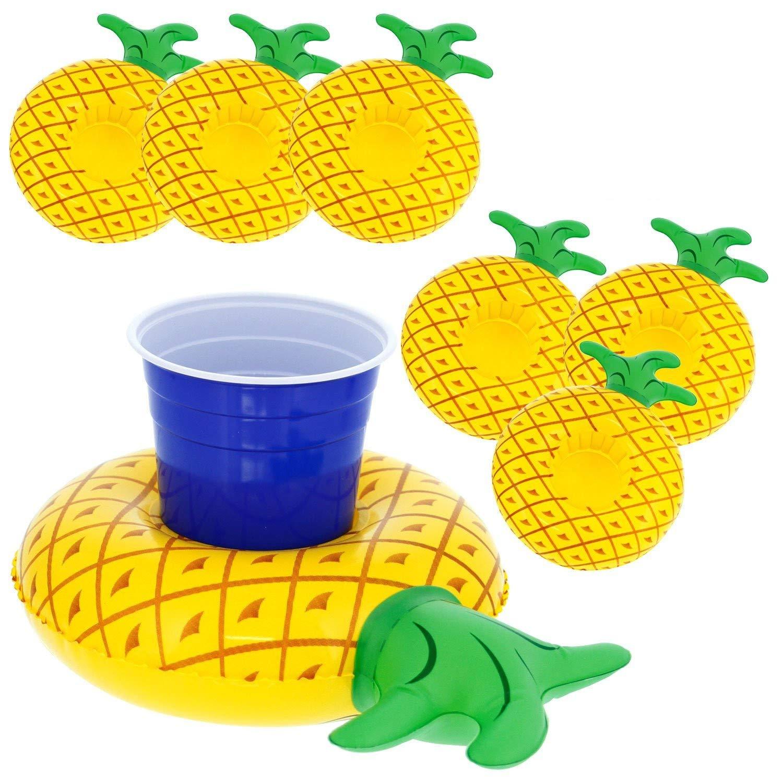 VENI MASEE - Soporte hinchable para bebidas flotante para ...