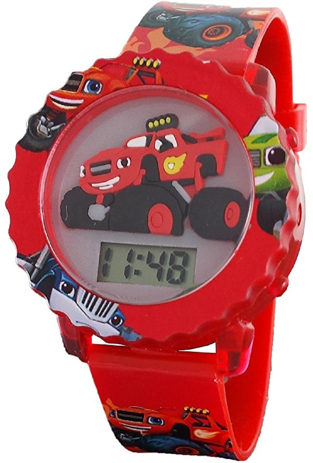 Nickelodeon Blaze and The Monster Machines Kid's Digital Light Up Watch BLZ4002