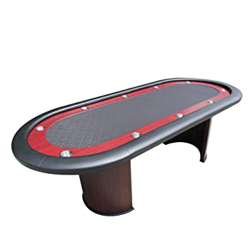 IDS Professional Texas Holdem Casino Poker Table Ver 2 With U Shape Wooden  Leg, 96u0026quot