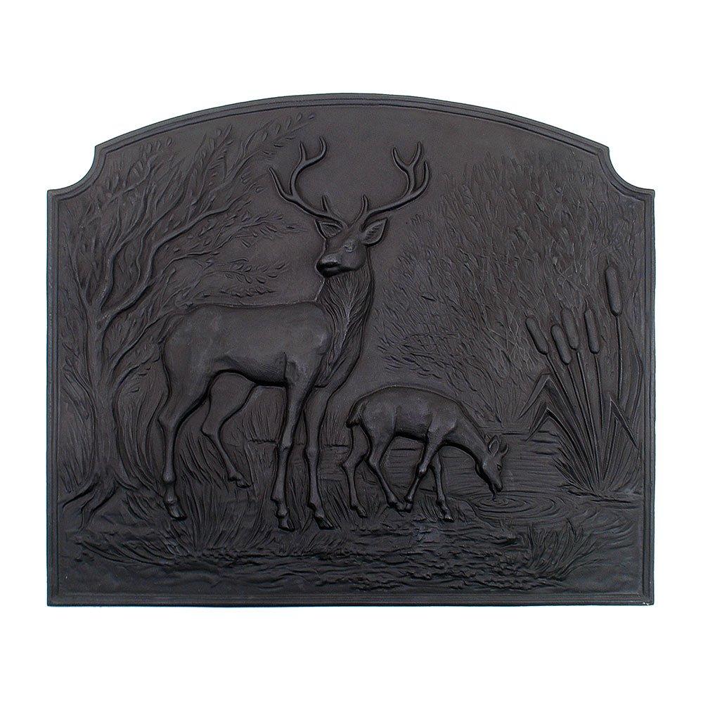 Minuteman International Deer Cast Iron Fireback
