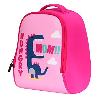 Zooawa Kids Backpack, Cute Dinosaur Baby Toddler Children Boys Girls Gift Schoolbag