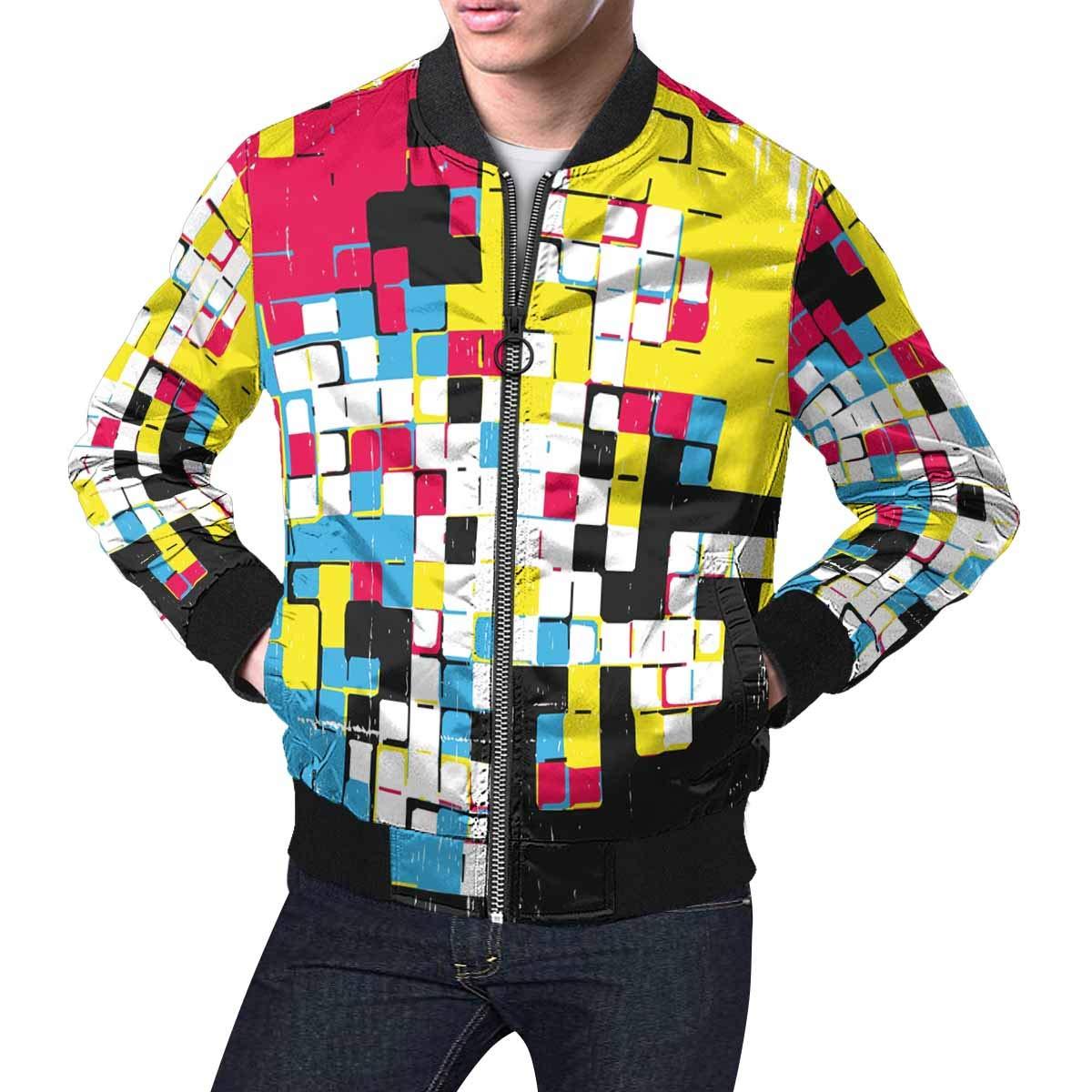 INTERESTPRINT Mens Lightweight Classic Casual Jacket