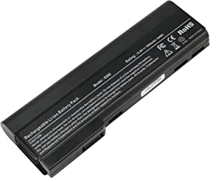 Futurebatt Laptop Battery 9Cell 7800mAh for HP EliteBook 8460P 8460W 8470P 8470W 8560P 8570P; HP ProBook 6360B 6460B 6465B 6470B 6475B 6560B 6565B 6570B Notebook, P/N CC06 QK642AA 628666-001