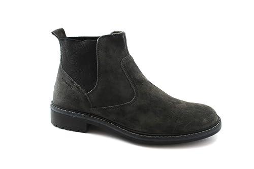 IGI & CO 2106411 Antracita Gris Zapatos Hombres Botines Beatles Gamuza 45