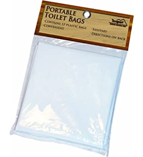 High Quality Texsport Disposable Urine, Fecal, Waste Bags For Portable Toilets