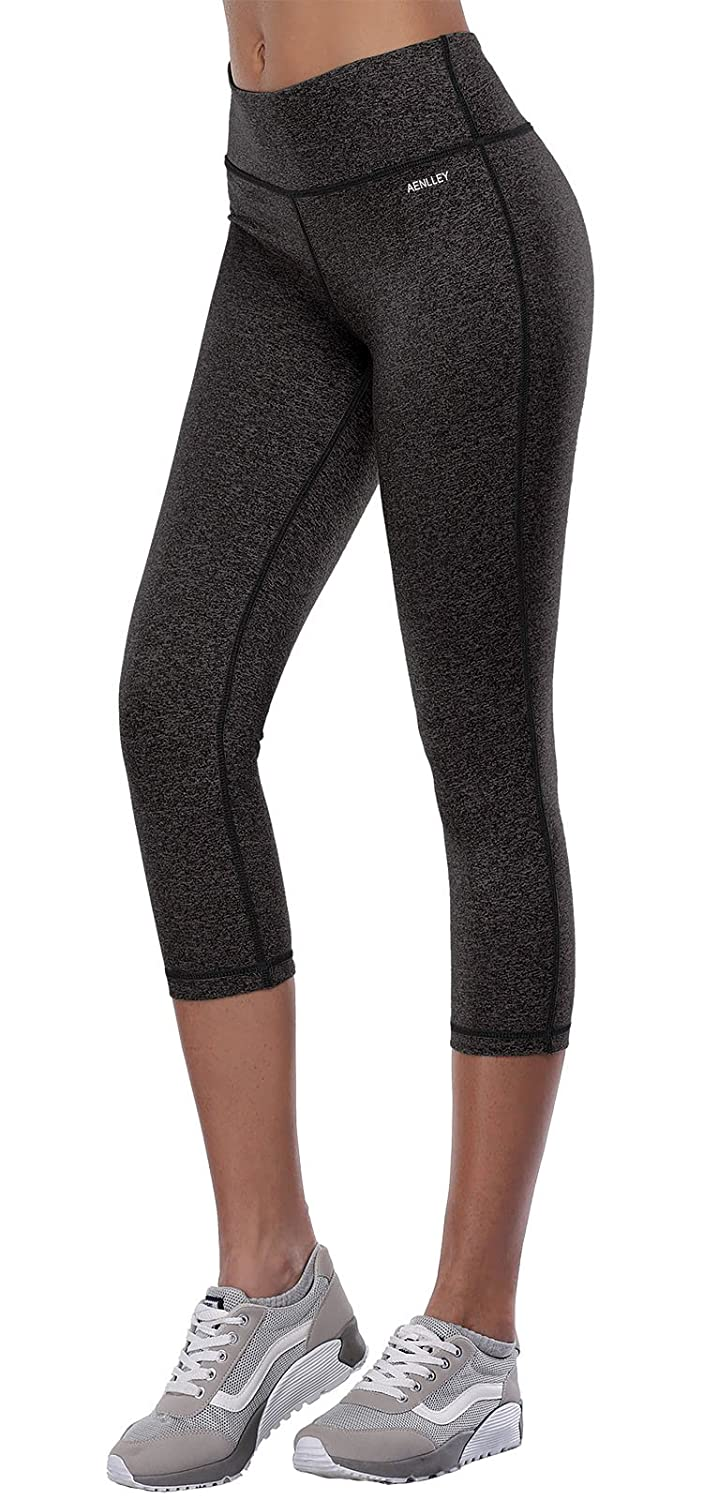 885c0bfbdb Amazon.com: Aenlley Womens Activewear Yoga Pants High Rise Workout Gym  Spandex Tights Leggings: Clothing