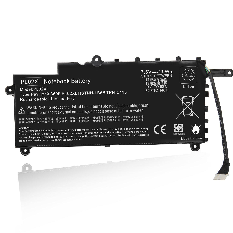 Bateria Pl02xl Para Hp Pavilion 11 X360 11-n X360 Ser (szgl)