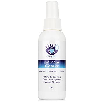 7c651b27a13 Heyedrate Lid and Lash Cleanser for Eye Irritation and Eyelid Relief,  Gentle Hypochlorous Acid Eyelid