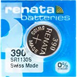 Renata 390 Silver Oxide 1.55v Watch Battery (Sr1130Sw)
