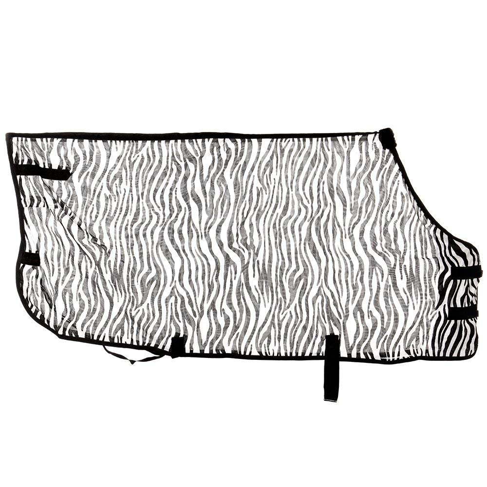 Tough-1 Zebra Mesh Fly Sheet 81 Zebra
