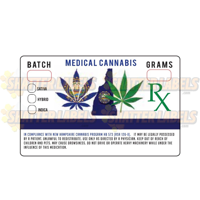 Amazon 500 New Hampshire Nh Medical Marijuana Cannabis Hb 573