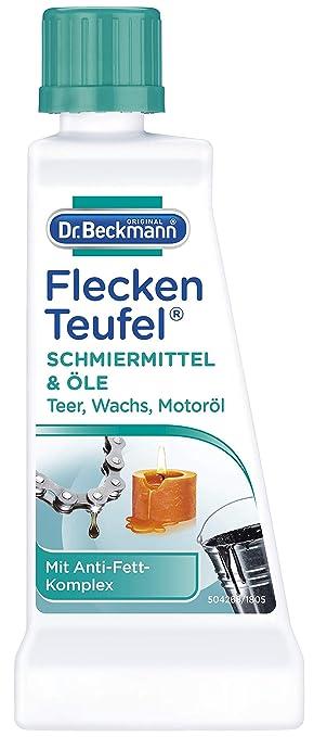 El Dr. Beckmann mancha lubricantes diablo aceites 50 ml - con anti-grasa complejo: Amazon.es: Hogar