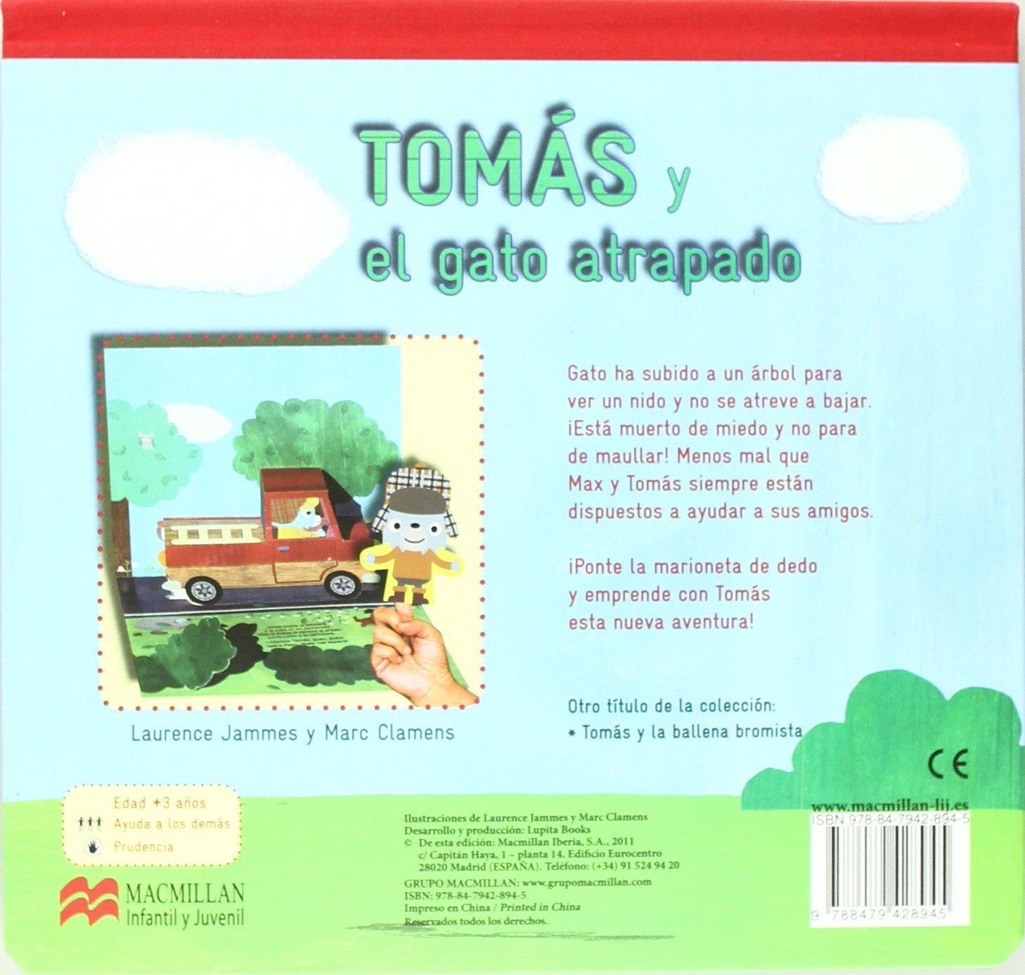 Amazon.com: Tomás y el gato atrapado (Tomás series) (Spanish Edition) (9788479428945): Laurence Jammes: Books