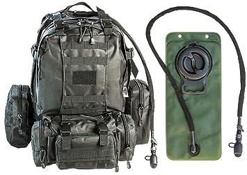 Amazon.com : Monkey Paks Tactical Military Backpack Bundle with ...