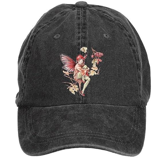 jiamens logotipo de hadas y flores Unisex ajustable Snapback tapas ...