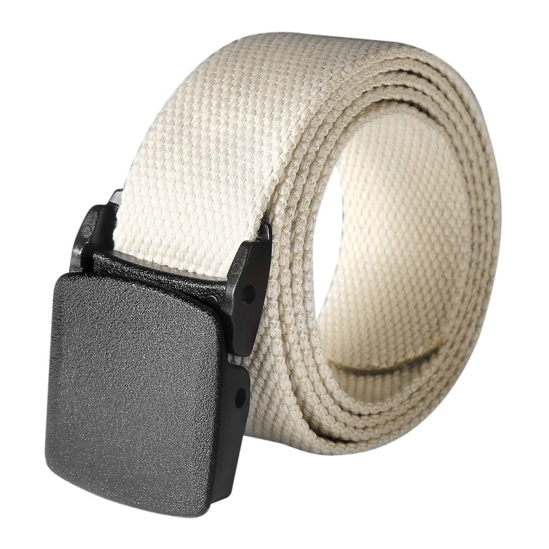 LoveUnder20 Tactical Adjustable Survival Solid Nylon Outdoor Waist Belt Belts widome