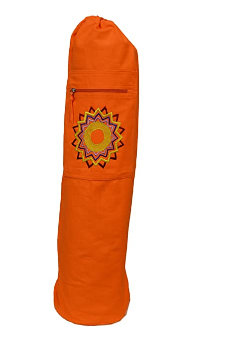 Tvamm-Lifestyle Esterilla de Yoga Funda - Chakras, Naranja ...