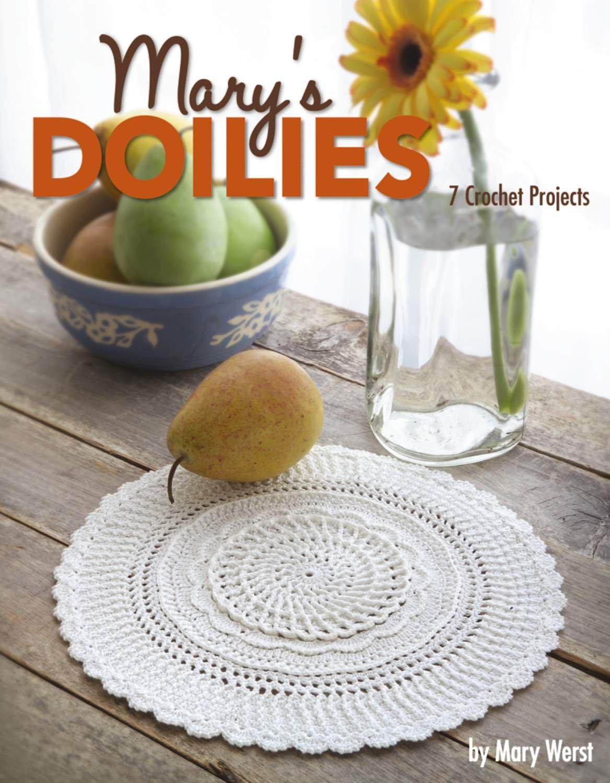 Marys Doilies Leisure Arts 3853 Mary Werst 9781601403209 Oval Crochet Doily Diagram Pinterest Books
