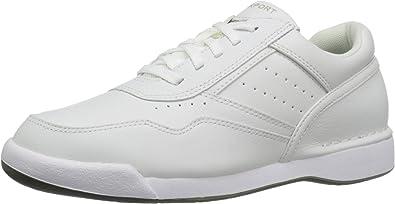 TALLA 40.5 EU. Rockport M7100 Milprowalker White, Zapatos de Cordones Derby Hombre