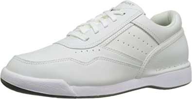TALLA 40.5 EU. Rockport M7100 Milprowalker White, Zapatos de Cordones Derby para Hombre