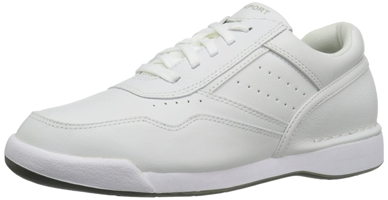 Bianco (bianca) Rockport M7100 Milprowalker bianca, Sautope Stringate Derby Uomo
