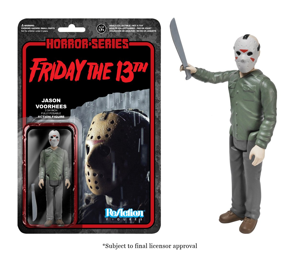 Figura Reaction 9 9 9 a 10 cm Jason Voorhees 4273d3
