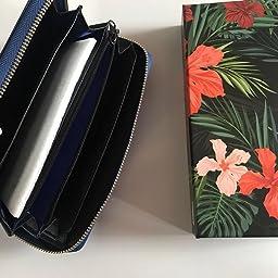 Amazon Co Jp カスタマーレビュー Cocases レディース 長財布 大容量 レザー ロングウォレット カード収納 スキミング防止 多機能財布 取り出しやすい 小銭入れ ラウンドファスナー かわいい ピンク